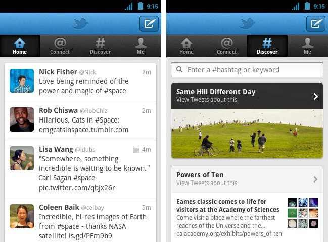 Video: Twitter rolls out redesigned Android app