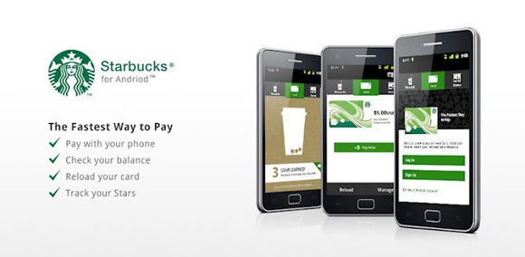 Starbucks App Served Up On Android