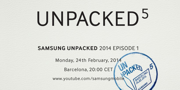 Samsung to 'unpack' Galaxy S5 this month at Barcelona event